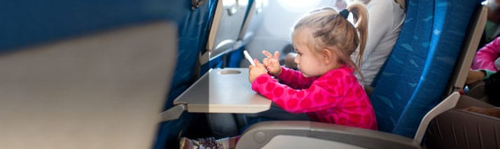Medical Advisory: Safe Sleeping, Best Seats and More Safety Tips for Air Travel with Children